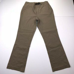 Westbound Brown Straight Stretch Dress Pants